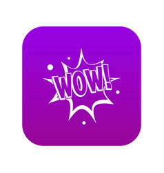 Wow Icon Purple Vector Images (17)