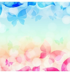 beautiful abstract vector image vector image