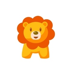 Toy African Lion vector image