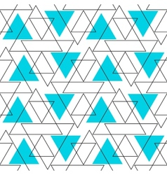 Abstract Background Geometric Seamless Pattern vector image