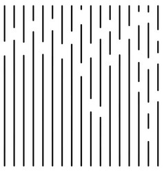 abstract vertical black and white lines vector image