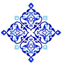Artistic ottoman pattern series ninety seven vector