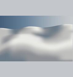 background landscape all snow vector image