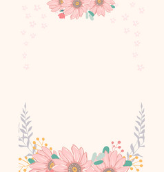 banner or invitation scrapbook vector image