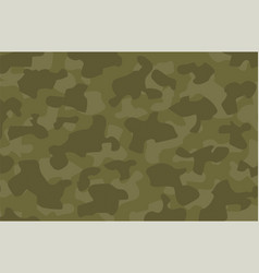 cartoon navy green army military camouflage vector image