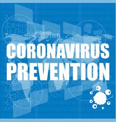 Covid-19 coronavirus prevention pandemic medical vector