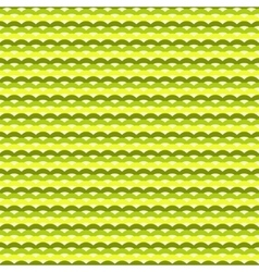 Green and yellow waves seamless pattern vector image