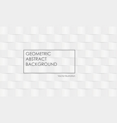isometric cubes background design in gray tones vector image