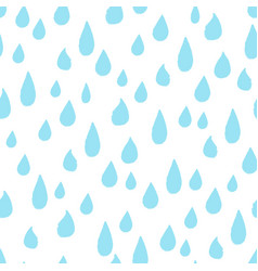 Raindrop allover vector