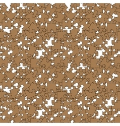 Seamless Jigsaw Pattern vector image