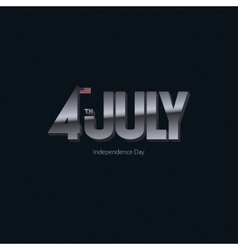 American Independence Day vector image