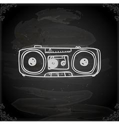 Hand drawn stereo vector
