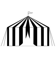 outline carnival object vector image