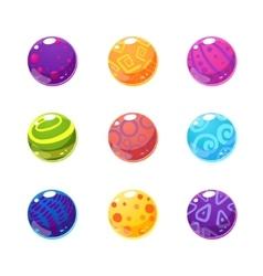 Multicolor Balls Set vector image vector image