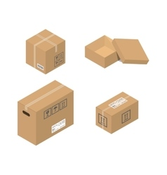 Move service box vector image vector image