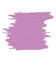 Purple banner of brushstrokes vector image vector image