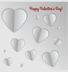 valentine s heart vector image vector image