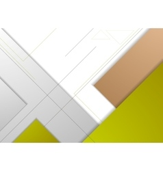 Abstract corporate geometric background vector