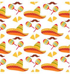 Cinco de mayo 5th may mexican sombrero vector