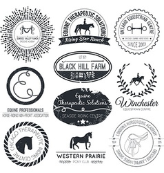 Equine Logo vector
