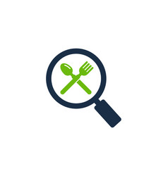 find food logo icon design vector image