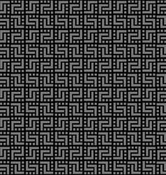 Geometric black seamless pattern vector