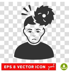 Headache EPS Icon vector