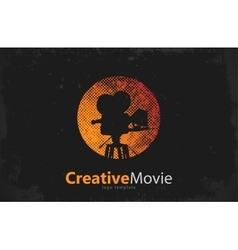 Movie logo Creative movie design Camera logo vector