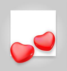 paper heart vector image
