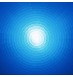 Radial background design abstract blue art pattern vector