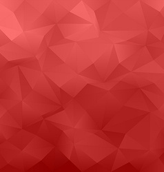 Red abstract irregular triangle pattern background vector