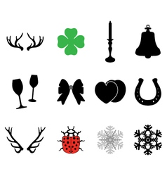 Set of icons 2 vector image