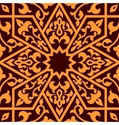Arabian eastern seamless ornament vector image vector image