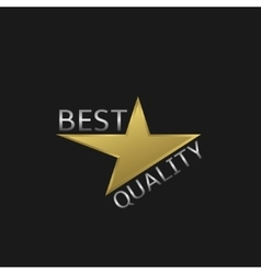 Best quality label vector image vector image