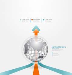 infographics set and Information vector image vector image