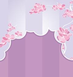 cut flow strip vector image vector image