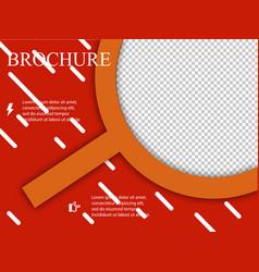 Business brochure flyer design layout template in vector