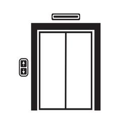 Elevator icon symbol design vector