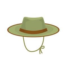 Hunter hat vector