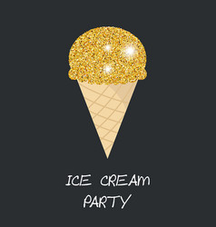 Ice cream cone ice cream cone vector