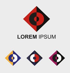 Letter O logo vector
