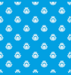 print photo studio pattern seamless blue vector image