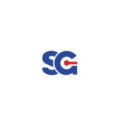 sg-logo vector image