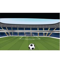 stadium vector image