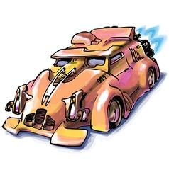 Retro Jet Car vector image vector image