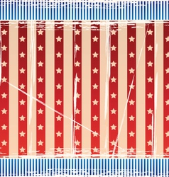 Background with strips and stars vector image vector image