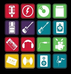 Band Icon Basic Style vector image vector image