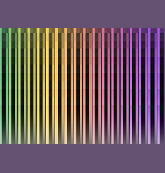 dark rainbow pixel bar abstract background vector image