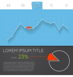 Detailed colorful infographic elements for web and vector image