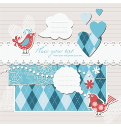Digital scrapbook vector
